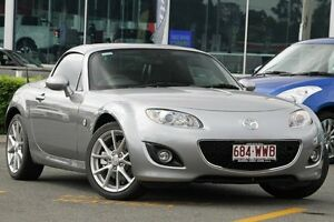 2010 Mazda MX-5 NC30F2 MY09 Silver 6 Speed Manual Softtop Wavell Heights Brisbane North East Preview