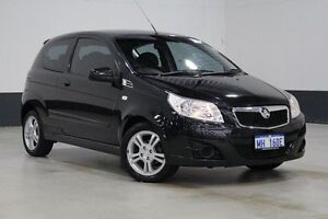 2009 Holden Barina TK MY09 Black 5 Speed Manual Hatchback Bentley Canning Area Preview