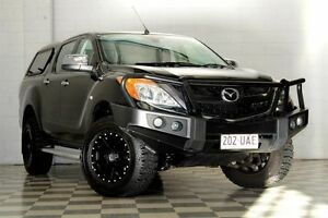 2013 Mazda BT-50 MY13 GT (4x4) Black 6 Speed Automatic Dual Cab Utility Burleigh Heads Gold Coast South Preview
