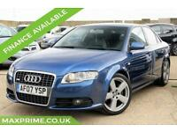 AUDI A4 2.0 T FSI QUATTRO S LINE PETROL AUTOMATIC 200 BHP JUST SERVICED AT AUDI