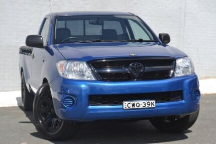 2010 Toyota Hilux GGN15R MY10 SR Tidal Blue 5 Speed Automatic Utility Pearce Woden Valley Preview