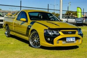 2003 Ford Falcon BA XR8 Gold 5 Speed Manual Utility Rockingham Rockingham Area Preview