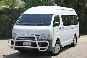 2006 Toyota Hiace TRH223R Commuter High Roof Super LWB White 4 Speed Automatic Bus Underwood Logan Area Preview