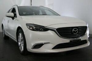 2015 Mazda 6 GJ1032 Touring SKYACTIV-Drive White 6 Speed Sports Automatic Wagon