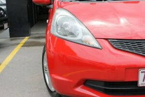 2009 Honda Jazz GE MY09 VTi-S Red 5 Speed Semi Auto Hatchback