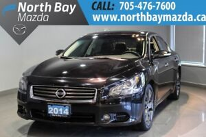 2014 Nissan Maxima 3.5 SV Sport Package Navigation + Leather Int