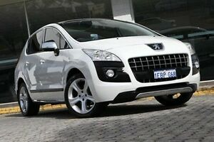 2011 Peugeot 3008 White Sports Automatic Hatchback St James Victoria Park Area Preview