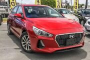 2017 Hyundai i30 PD MY18 Active Fiery Red 6 Speed Sports Automatic Hatchback Aspley Brisbane North East Preview