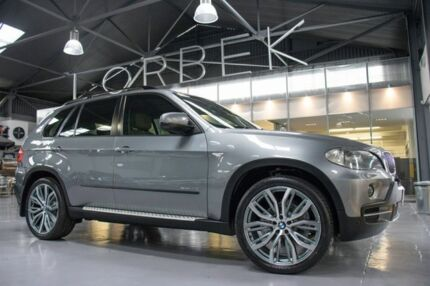2009 BMW X5 E70 MY09 xDrive 30D Executive Space Grey 6 Speed Auto Steptronic Wagon Port Melbourne Port Phillip Preview