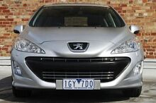 2010 Peugeot 308 T7 Sportium Silver 6 Speed Sports Automatic Hatchback North Melbourne Melbourne City Preview