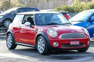 2009 Mini Hatch R56 Cooper Steptronic Chilli Red 6 Speed Sports Automatic Hatchback Ringwood East Maroondah Area Preview