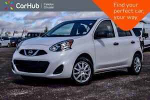 2017 Nissan MICRA S Only 11798 km AM/FM/CD Accident Free