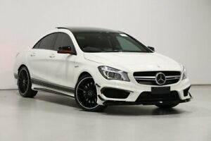 2015 Mercedes-Benz CLA45 117 MY15 AMG Cirrus White 7 Speed Automatic Coupe