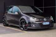 2006 Volkswagen Golf V MY07 GTI DSG Black 6 Speed Sports Automatic Dual Clutch Hatchback Wangara Wanneroo Area Preview