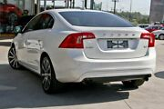 2014 Volvo S60 F Series MY15 T4 PwrShift Luxury White 6 Speed Sports Automatic Dual Clutch Sedan Hillcrest Logan Area Preview