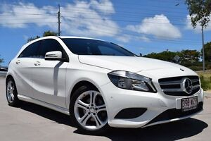 2014 Mercedes-Benz A180 W176 D-CT White 7 Speed Sports Automatic Dual Clutch Hatchback Noosaville Noosa Area Preview