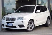 2014 BMW X3 F25 MY1213 xDrive28i Steptronic White 8 Speed Automatic Wagon Myaree Melville Area Preview