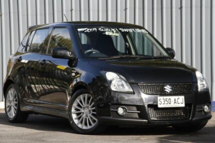 2009 Suzuki Swift RS416 Sport Metallic Black 5 Speed Manual Hatchback Enfield Port Adelaide Area Preview