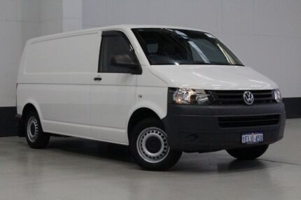 2014 Volkswagen Transporter T5 MY14 TDI 340 LWB Low White 7 Speed Auto Direct Shift Van Bentley Canning Area Preview