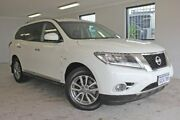 2016 Nissan Pathfinder R52 MY16 ST-L X-tronic 4WD White 1 Speed Constant Variable Wagon East Rockingham Rockingham Area Preview