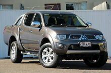 2014 Mitsubishi Triton MN MY15 GLX-R Double Cab Brown 5 Speed Manual Utility Chermside Brisbane North East Preview
