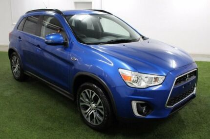 2015 Mitsubishi ASX XB MY15.5 LS 2WD Blue 6 Speed Constant Variable Wagon Burnie Area Preview