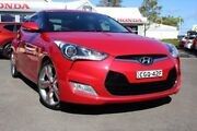 2012 Hyundai Veloster FS + Coupe D-CT Red 6 Speed Sports Automatic Dual Clutch Hatchback Port Macquarie Port Macquarie City Preview