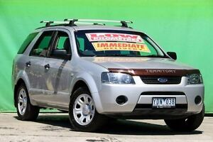 2006 Ford Territory SY TX Silver 4 Speed Sports Automatic Wagon Ringwood East Maroondah Area Preview