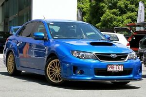 2013 Subaru Impreza G3 MY14 WRX AWD RS40 Blue 5 Speed Manual Sedan Toowong Brisbane North West Preview