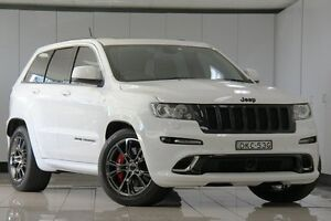 2013 Jeep Grand Cherokee WK MY13 SRT 8 Alpine White 5 Speed Automatic Wagon Chatswood West Willoughby Area Preview