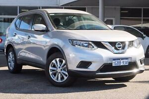 2016 Nissan X-Trail T32 ST X-tronic 2WD Silver 7 Speed Constant Variable Wagon Osborne Park Stirling Area Preview