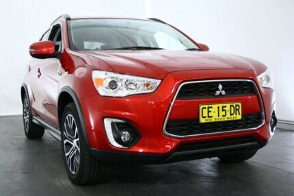 2015 Mitsubishi ASX XB MY15 LS 2WD Oriental Red 6 Speed Constant Variable Wagon Maryville Newcastle Area Preview