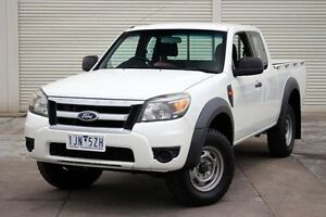 2010 Ford Ranger PK XL Super Cab Hi-Rider White 5 Speed Manual Utility Seaford Frankston Area Preview