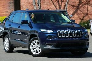 2015 Jeep Cherokee KL MY16 Sport (4x2) True Blue 9 Speed Automatic Wagon Zetland Inner Sydney Preview