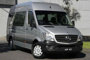 2014 Mercedes-Benz Sprinter NCV3 MY14 Transfer Low Roof MWB 7G-Tronic Silver 7 Speed North Melbourne Melbourne City Preview