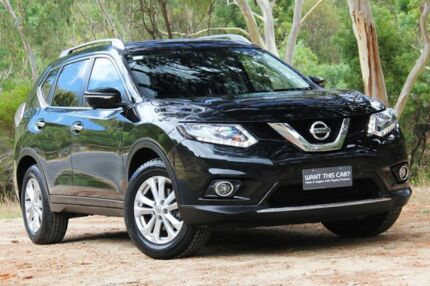 2014 Nissan X-Trail T32 ST-L X-tronic 2WD Black 7 Speed Constant Variable Wagon Hawthorn Mitcham Area Preview