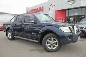 2013 Nissan Navara D40 S6 MY12 ST Blue 5 Speed Sports Automatic Utility Hillman Rockingham Area Preview