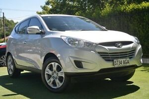 2010 Hyundai ix35 Active Silver 6 Speed Sports Automatic Wagon Paradise Campbelltown Area Preview