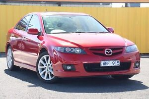 2007 Mazda 6 GG1032 Luxury Sports Pearl Red 6 Speed Manual Hatchback Heatherton Kingston Area Preview