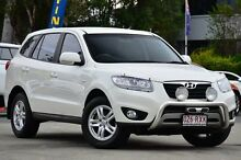 2011 Hyundai Santa Fe CM MY12 SLX White 6 Speed Sports Automatic Wagon Southport Gold Coast City Preview