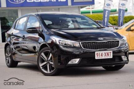 2017 Kia Cerato YD MY18 Sport Black 6 Speed Sports Automatic Hatchback