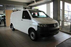 2014 Volkswagen Transporter T5 MY14 TDI 340 LWB Mid White 7 Speed Auto Direct Shift Van