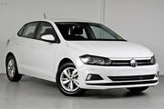 2018 Volkswagen Polo AW MY18 85TSI Comfortline White 6 Speed Manual Hatchback Belconnen Belconnen Area Preview