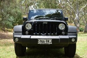 2015 Jeep Wrangler JK MY2016 Sport Black 5 Speed Automatic Softtop St Marys Mitcham Area Preview