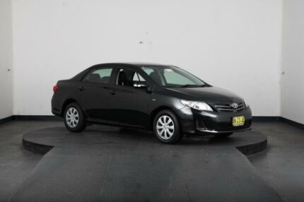 2011 Toyota Corolla ZRE152R MY11 Ascent Black 4 Speed Automatic Sedan Greenacre Bankstown Area Preview