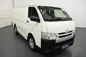 2014 Toyota Hiace TRH201R MY14 LWB French Vanilla 4 Speed Automatic Van Moorabbin Kingston Area Preview