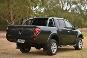 2013 Mitsubishi Triton MN MY13 GLX-R Double Cab Grey 5 Speed Manual Utility St Marys Mitcham Area Preview