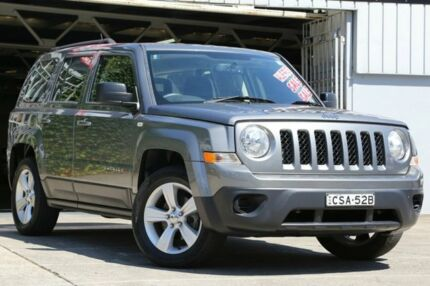 2013 Jeep Patriot MK MY2013 Sport CVT Auto Stick 4x2 Graphite 6 Speed Constant Variable Wagon