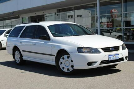 2010 Ford Falcon BF Mk III XT White 4 Speed Sports Automatic Wagon Osborne Park Stirling Area Preview