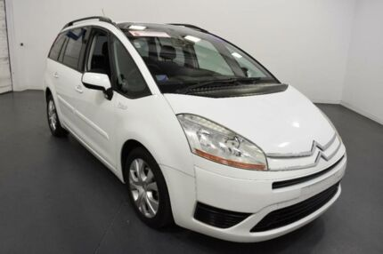2007 Citroen C4 Picasso White 4 Speed Automatic Wagon